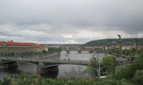 Zdjecie CZECHY / - / Praga / Čechův most - Praga