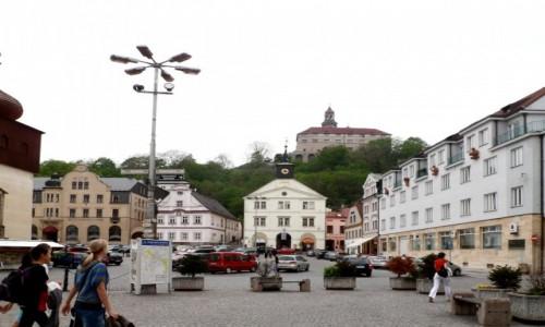 Zdjęcie CZECHY / Kraj Hradecki / Nachod / Rynek w Nachodzie