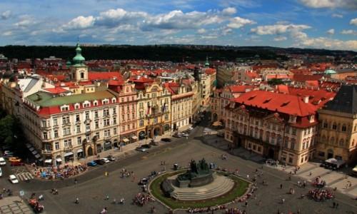 Zdjęcie CZECHY / Czechy / Praga / Rynek Staromiejski