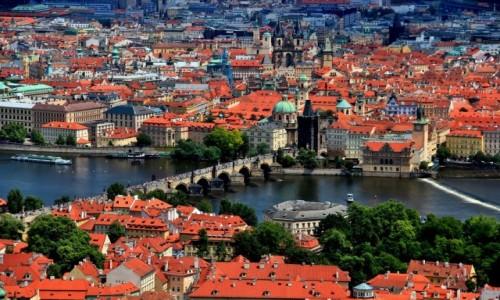 Zdjęcie CZECHY / Praga / Praga / Most Karola