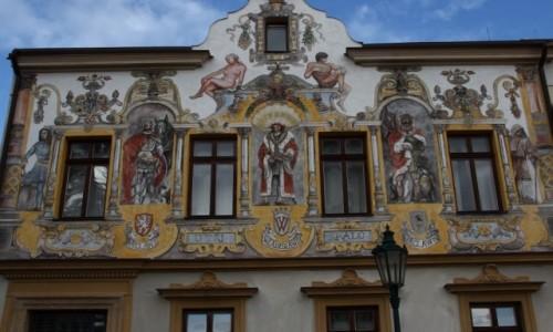 Zdjęcie CZECHY / Zachodnie Czechy / Kutna Hora / Malowana Kamienica