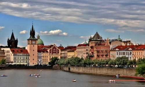Zdjecie CZECHY / Praga / Praga / Praga w czerwcu