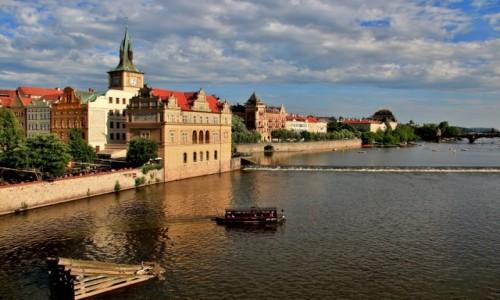 Zdjecie CZECHY / Praga / Praga / Nad Wełtawą