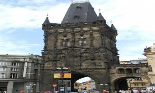 Zdjecie CZECHY / - / Praga / Wieża Prochowa