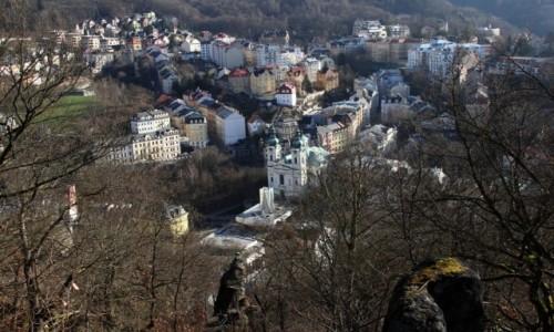 Zdjęcie CZECHY / Zachodnie Czechy / Karlove Vary / Widok z