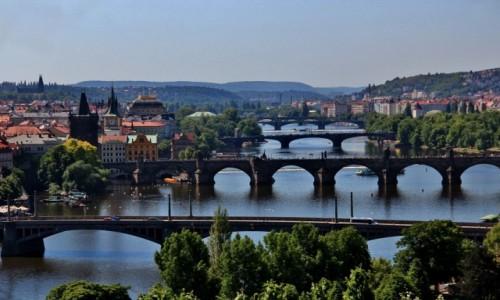 Zdjecie CZECHY / Praga / Praga / Mosty Wełtawy