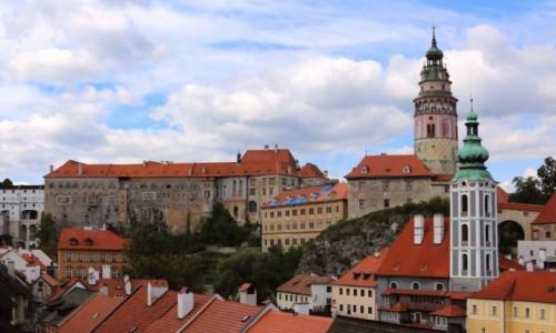 CZECHY /  kraj południowoczeski / Ceski Krumlov / Zamek w Ceskim Krumlovie