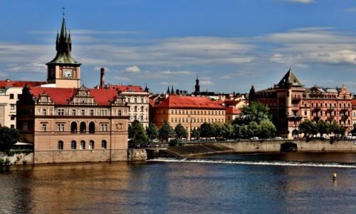 Zdjecie CZECHY / Praga / Praga / Na prawym brzegu