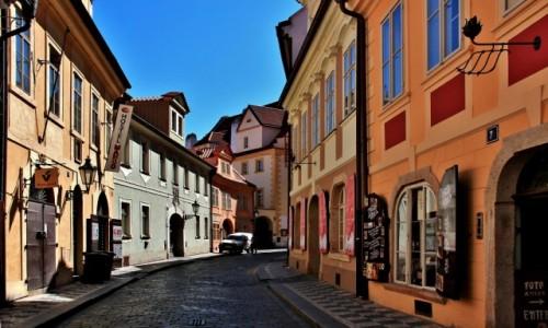 Zdjecie CZECHY / Praga / Praga / Uliczka