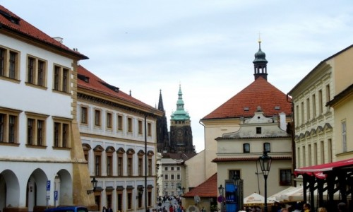 Zdjęcie CZECHY / Kraj Środkowo Czeski / Praga / Praska uliczka