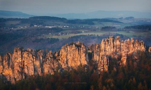 Zdjęcie CZECHY / Liberecky kraj / Mala Skala / Suche skaly