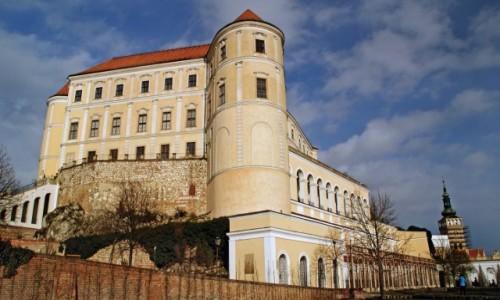 Zdjecie CZECHY / Morawy / Mikulov / Pałac w Mikulowie