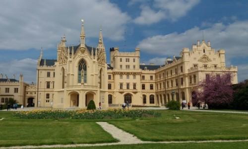 Zdjecie CZECHY / Morawy / Lednice / Lednice - Pałac Liechtensteinów