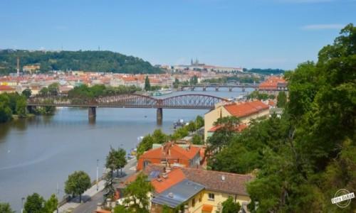 Zdjęcie CZECHY / - / Vysehrad, Praga / Widok z Vysehrad