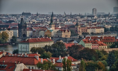 Zdjecie CZECHY / - / Praga / Panorama Pragi