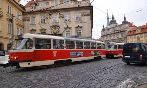 Zdjecie CZECHY / Kraj środkowoczeski / Praga / Oto i Tatra T3 ;)