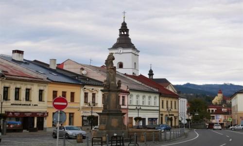 Zdjęcie CZECHY / Kraj morawsko- śląski / Jabłonków / Rynek