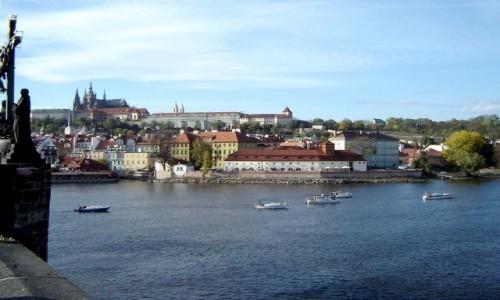 Zdjęcie CZECHY / Praga / Praga / Widok z mostu