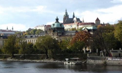 Zdjęcie CZECHY / Praga / Praga / Przy Wełtawie