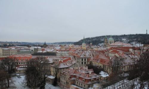 Zdjecie CZECHY / - / Praga / Dachy Pragi