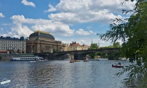 Zdjecie CZECHY / Praga / Praga / Most Legii