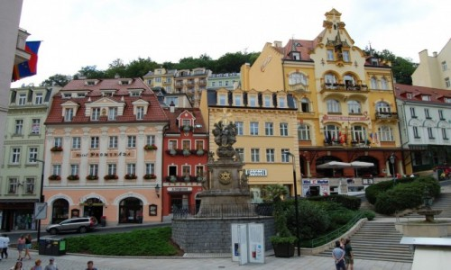 Zdjęcie CZECHY / Czechy / Karlovy Vary / Karlovy Vary (Karlowe Wary)