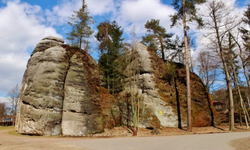 Zdjęcie CZECHY / Kraj Hradecki / Adrspach / Skalne miasto