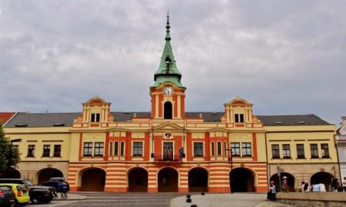 Zdjęcie CZECHY / Kraj środkowoczeski / Mielnik / Ratusz z XIV wieku