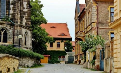 Zdjecie CZECHY / Kraj środkowoczeski / Mielnik / Uliczka w Mielniku
