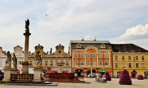 Zdjęcie CZECHY / Kraj środkowoczeski / Kolin / Rynek w Kolinie