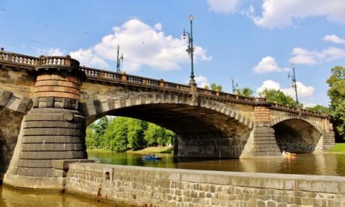 Zdjęcie CZECHY / Kraj środkowoczeski / Praga / Most Legii z 1901 roku
