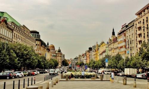 Zdjęcie CZECHY / Kraj środkowoczeski / Praga / Plac Wacława