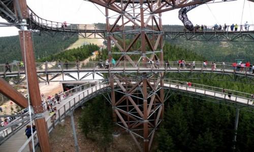 CZECHY / Wielka Morawa / Dolna Morawa / Trasa na szczyt wieży