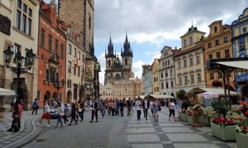 Zdjęcie CZECHY / Czechy / Praha / Ulicami pięknej Pragi