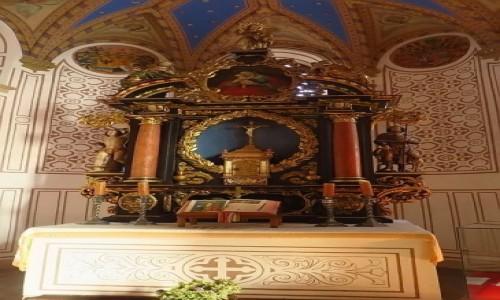 Zdjecie CZECHY / Czechy Północne / Frydlant / zamek Frydlant - kaplica św. Anny