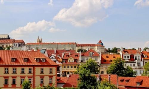 Zdjecie CZECHY / Kraj środkowoczeski / Praga / Dachy,ach te dachy...
