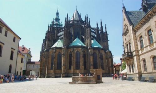 Zdjecie CZECHY / Kraj środkowoczeski / Praha / Czeskie wspomnienia. Katedra św. Wita w Pradze