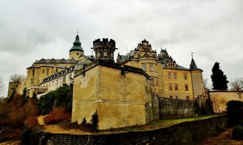 CZECHY / Kraj liberecki / Frydlant / Zamek z XIII wieku