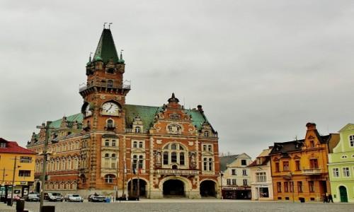 CZECHY / Kraj liberecki / Frydlant / Ratusz z 1896 roku