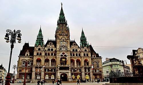 CZECHY / Kraj liberecki / Liberec / Ratusz z 1893 roku