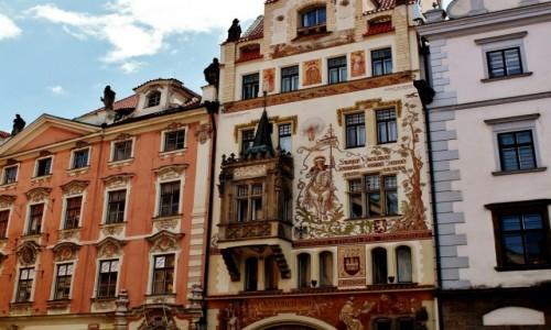 Zdjecie CZECHY / Kraj środkowoczeski / Praga / Praskie kamienice