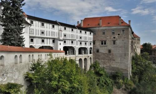 Zdjecie CZECHY / Południe / Krumlov / Krumlov, zamek