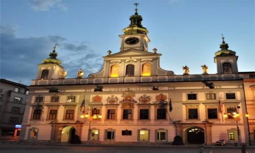 Zdjecie CZECHY / Południe / Czeskie Budziejowice / Czeskie Budziejowice, ratusz