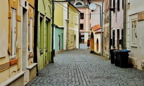 CZECHY / Kraj liberecki / Frydlant / Uliczka