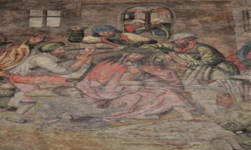 CZECHY / Morawy / Brno / Brno, klasztor franciszkański, średniowieczne freski