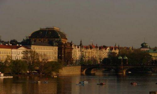 Zdjecie CZECHY / brak / Praga / Z mostu karola