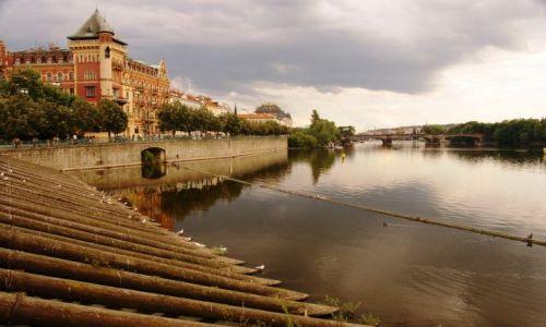 Zdjecie CZECHY / brak / Praga / Wełtawa