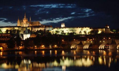 Zdjecie CZECHY / brak / Praga / Panorama Pragi