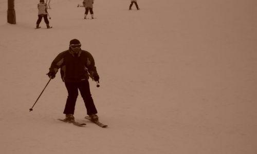 Zdjecie CZECHY / Czechy / Stok narciarski / Śnieg