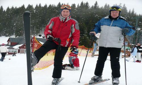Zdjecie CZECHY / Czechy / Stok narciarski / Z kumplem Lechem w kasku zamjast kapelusza :)))